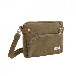 Travelon Heritage Anti-theft Crossbody Messenger Bag (Option: Beige)