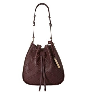 Vince Camuto Rayli Bordeaux Drawstring Shoulder Handbag