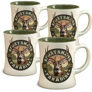 American Expedition Diner Mugs, Set of 4