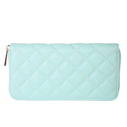 Rimen & Co. Simple Quilted Faux Leather Wallet