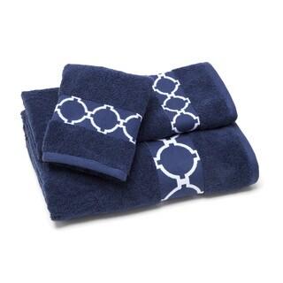 Jill Rosenwald Hampton Links Fingertip Towel (Set of 6)