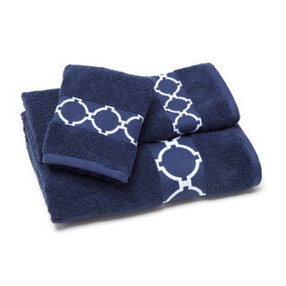 Jill Rosenwald Hampton Links Bath Towel (Set of 4)
