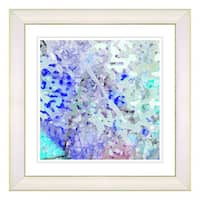 Studio Works Modern 'Frosted Sugar' Framed Fine Art Print