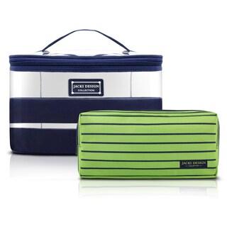 Jacki Design Felicita 2-piece Beauty Bag Set