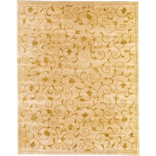 Hand Knotted Fine Nepal Weave Rug ( 4' x 6')