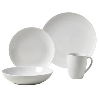 Collins 16pc Round Porcelain Dinnerware Set