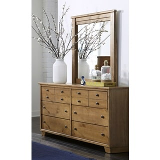 Diego Dune Finish Pine Framed Mirror