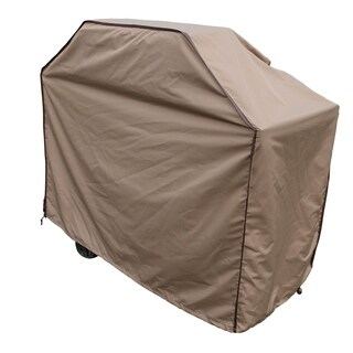 TrueShade Plus Large Tan BBQ Grill Cover