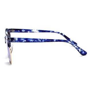 Dasein Polarized Mirrored Unisex Sunglasses with Slim Arms