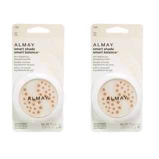 Almay Smart Shade Smart Balance Pressed Powder Light (Pack of 2)