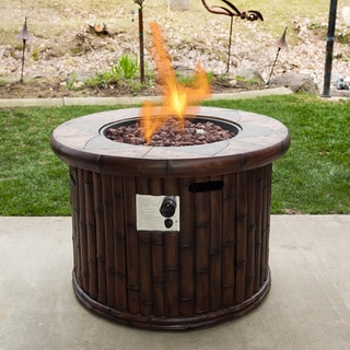 Somette Bamboo Fire Pit