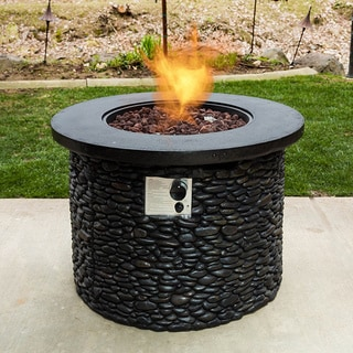 Bombay Stack Stone Propane Fire Pit