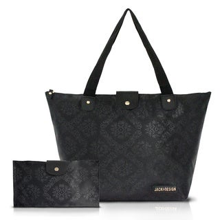 Jacki Design New Essential Large Foldable Tote Bag