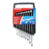 Crescent CCWS3 Metric Combination Wrench Set 10-count