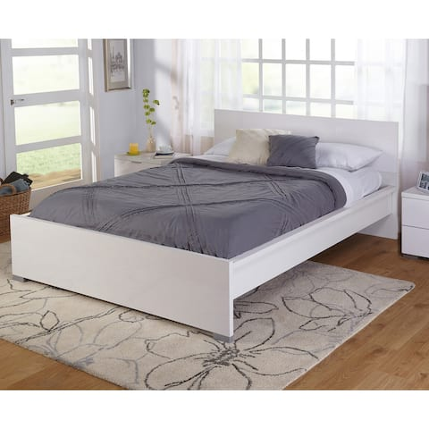 Simple Living Zuri High Gloss Queen Bed