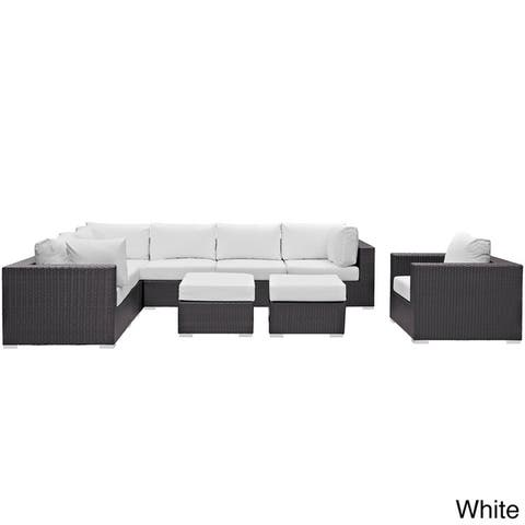 Gather Outdoor Patio Sectional Set (9 Piece Set)