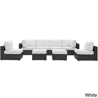 8 Piece Outdoor Patio Sectional Set