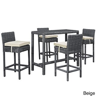 5 Piece Outdoor Patio Table and Chair Set (3 options available)