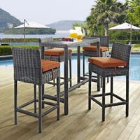 5 Piece Outdoor Patio Table and Chair Set