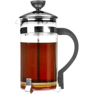 French Press Coffee Maker & Tea Maker with Bakelite Handle & Lid (34 Oz)