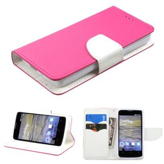 Insten Leather Case Cover with Stand/Wallet Flap Pouch For ZTE Uhura