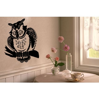 Owl hunter Wall Art Sticker Decal