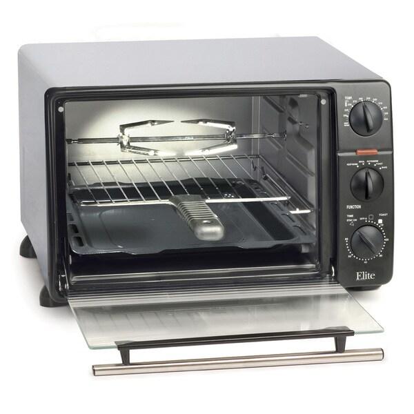 Shop Elite Cuisine Ero 2008n 23 Liter Toaster Oven Broiler