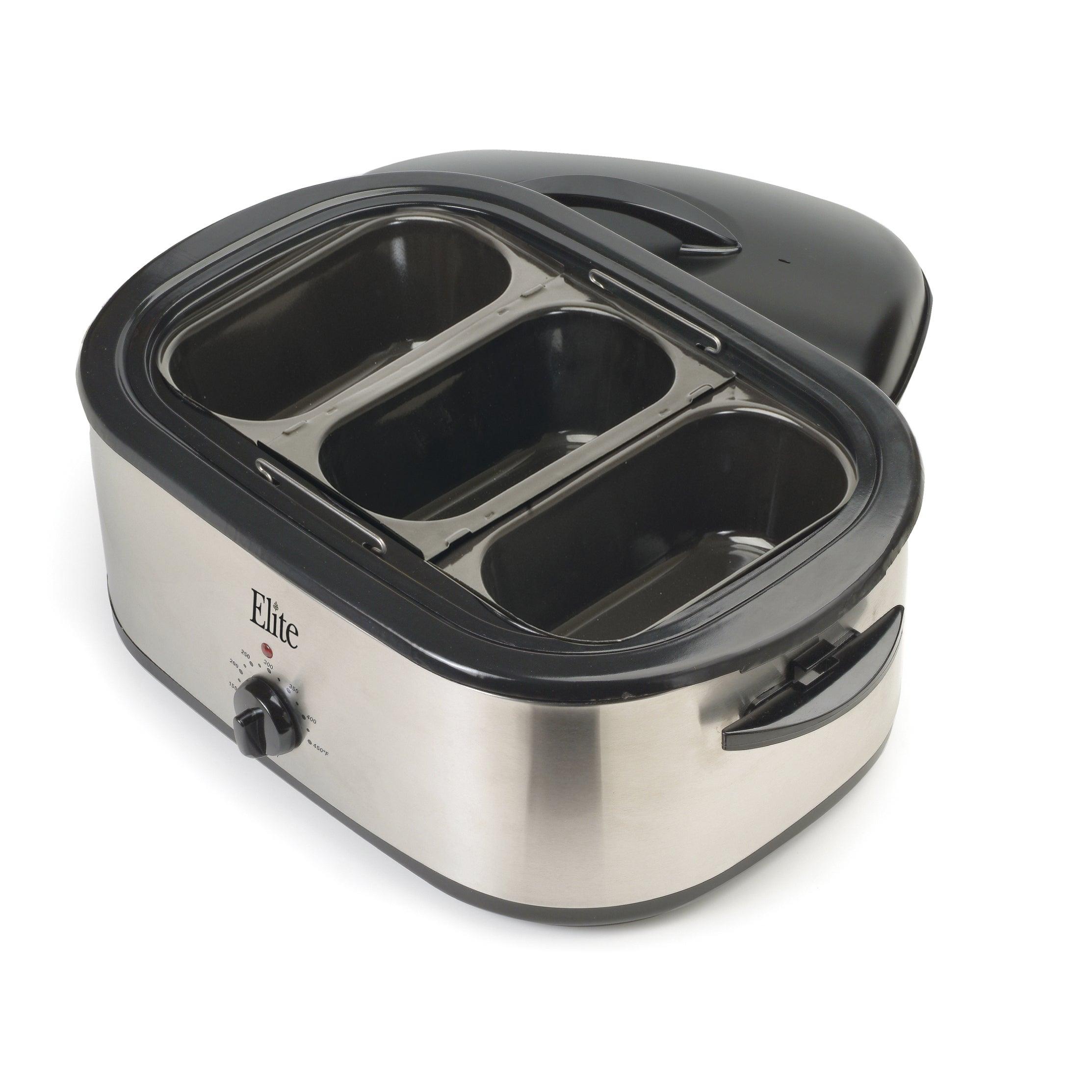 Elite Systems Platinum (White) ERO-210B 18-quart Roaster Oven (Metal)