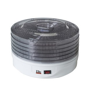 Elite Gourmet EFD-1010 5-Tray Food Dehydrator