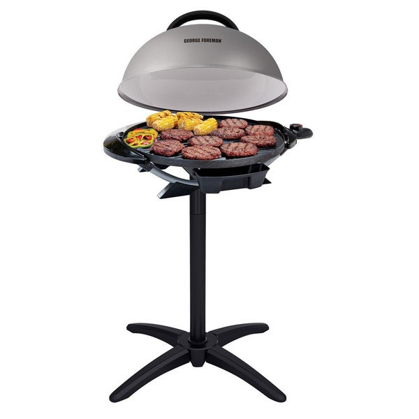 George Foreman 15-Serving Indoor/Outdoor Electric Grill GFO240S ...