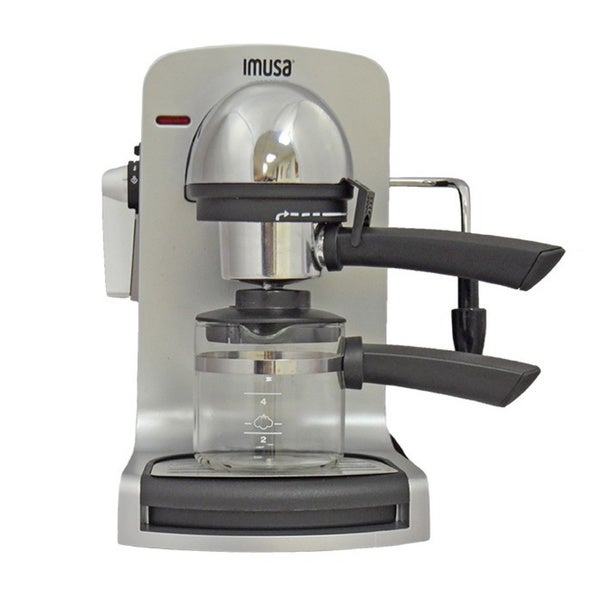 IMUSA GAU-18201 Bistro 4-cup Espresso Maker - Free Shipping Today - Overstock.com - 18535709