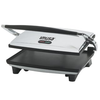 IMUSA GAU-80102 1400-Watt Electric Stainless Steel Panini Press