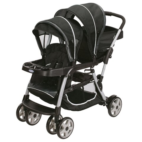 Graco Ready2Grow Gotham Black Click Connect LX Stroller
