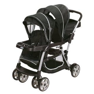 Graco Ready2Grow Click Connect LX Stroller in Gotham|https://ak1.ostkcdn.com/images/products/11597652/P18536591.jpg?impolicy=medium