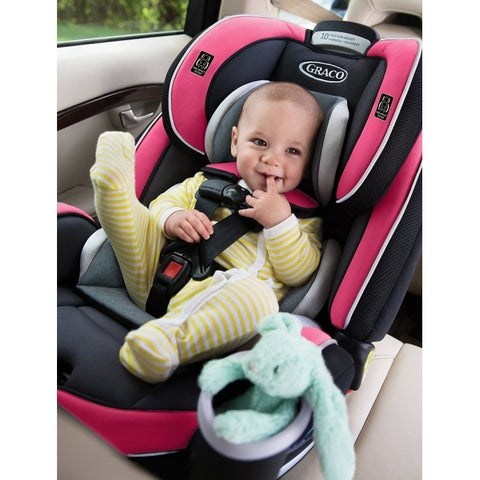 Graco Azalea 4Ever Black/Grey/Pink Metal/Plastic All-in-one Car Seat