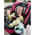 Graco Azalea 4Ever Black/Grey/Pink Metal and Plastic All-in-one Car Seat