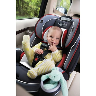 Graco Cougar 4Ever Black/Grey/Red Metal/Plastic All-in-one Car Seat