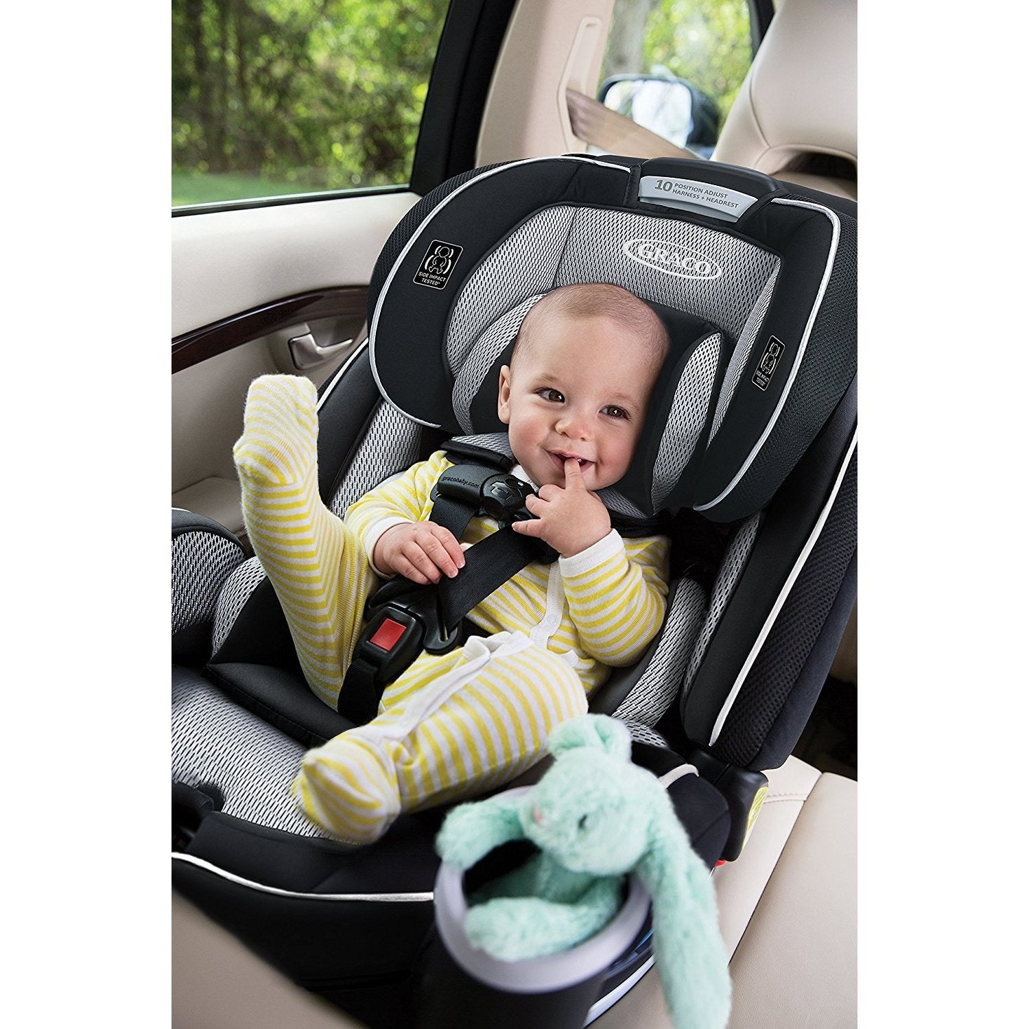 Graco Matrix 4Ever All in One Car Seat, Black
