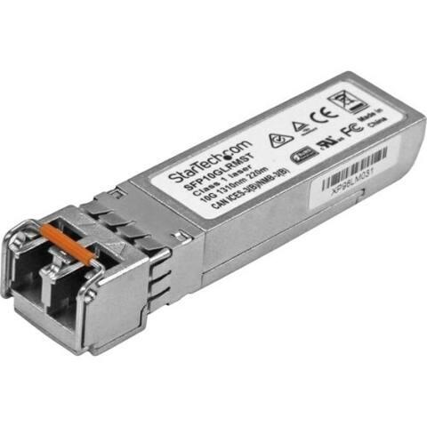 StarTech.com Cisco SFP-10G-LRM Compatible SFP+ Module - 10GBASE-LRM Fiber Optical SFP Transceiver - Lifetime Warranty - 10 Gbps