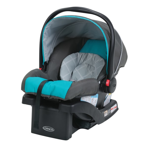 Graco SnugRide 30 Click Connect Infant Car Seat with Front Adjust in Finch