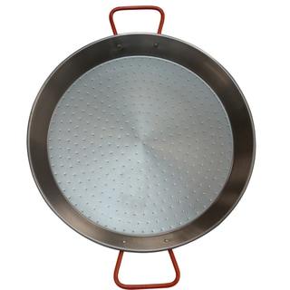 IMUSA Global Kitchen GKM-61022 15-inch Non-coated Paella Pan Natural Finish