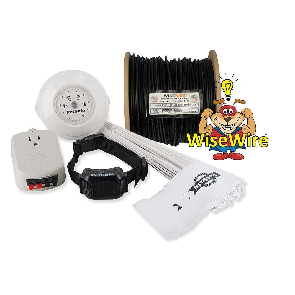Petsafe YardMax In-ground Dog Fence System with WiseWire ...