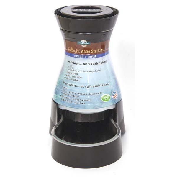 Petsafe Healthy Pet Water Station (1 gallon), Black