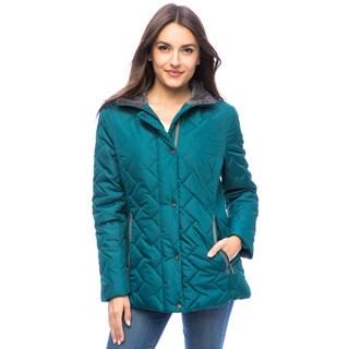 Mac Women's Zig-Zag Quilted Jacket