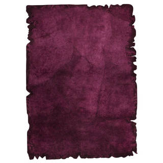 M.A. Trading Hand-tufted Jalwa 2 Purple Rug (5'2 x7'6)