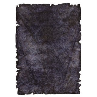 M.A.Trading Hand-tufted Jalwa 2 Charcoal Rug (5'2 x7'6 )