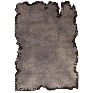 M.A. Trading Hand-tufted Jalwa 1 Silver Rug (5'2 x7'6)