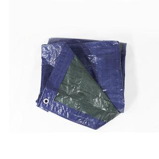 Sunnydaze Waterproof Multi-Purpose Poly Tarp, Size and Color Options Available - Blue/Green