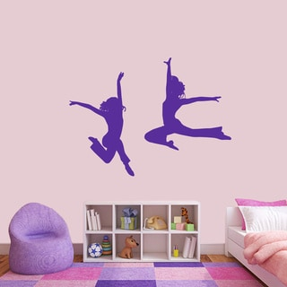 Large Set of Dancers Wall Decals