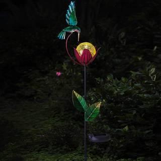 Sunjoy Hummingbird LED Solar Garden Stake